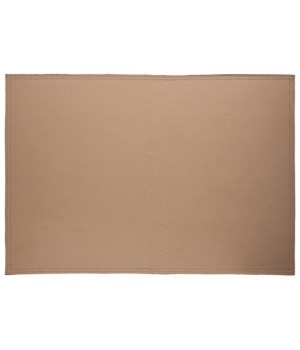 Placemat Double Stitch In Beige