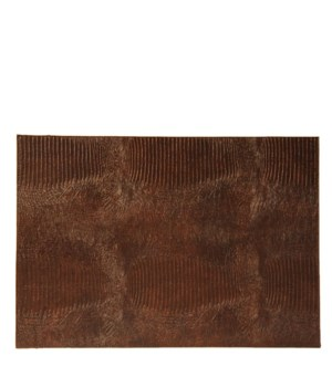 Placemat Lizard Print In Brown