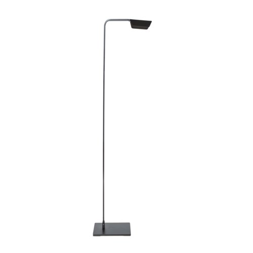Us-Floorlamp Led, Matt Aluminum