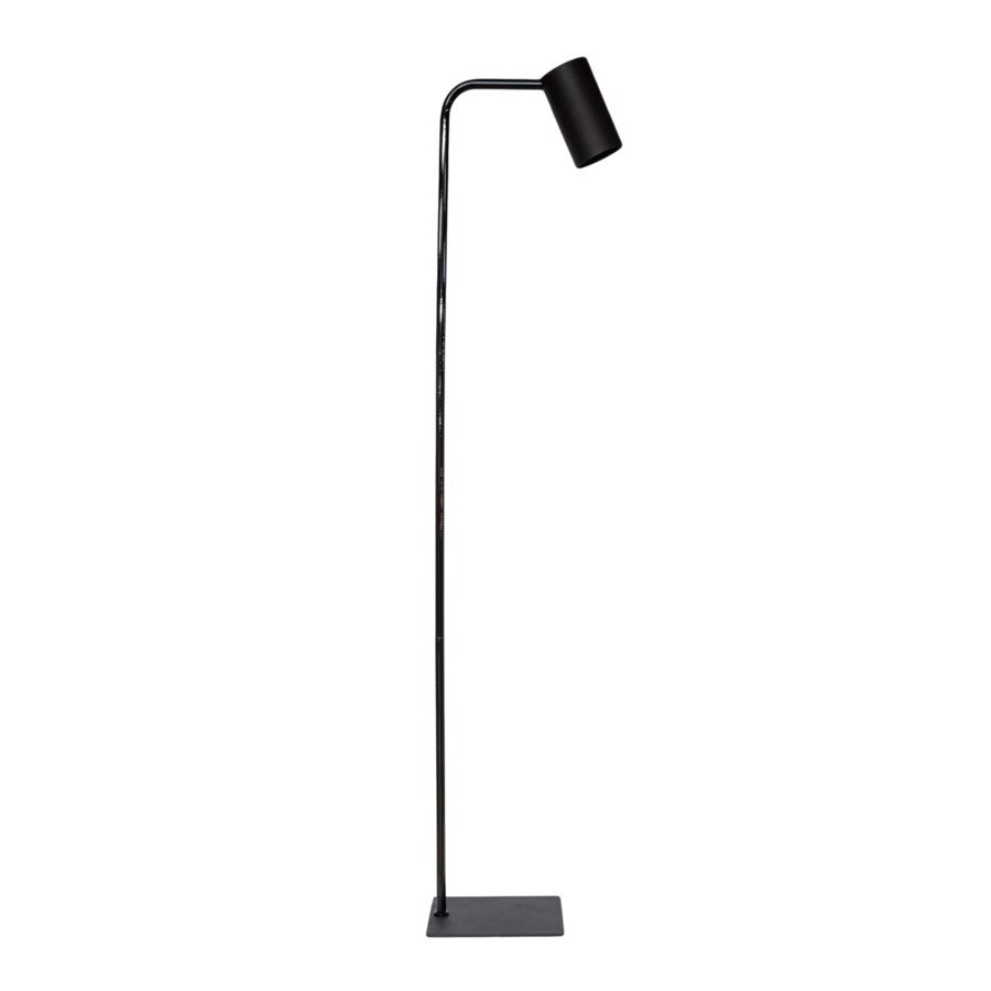 Us-Floorlamp Metal & Led Bulb