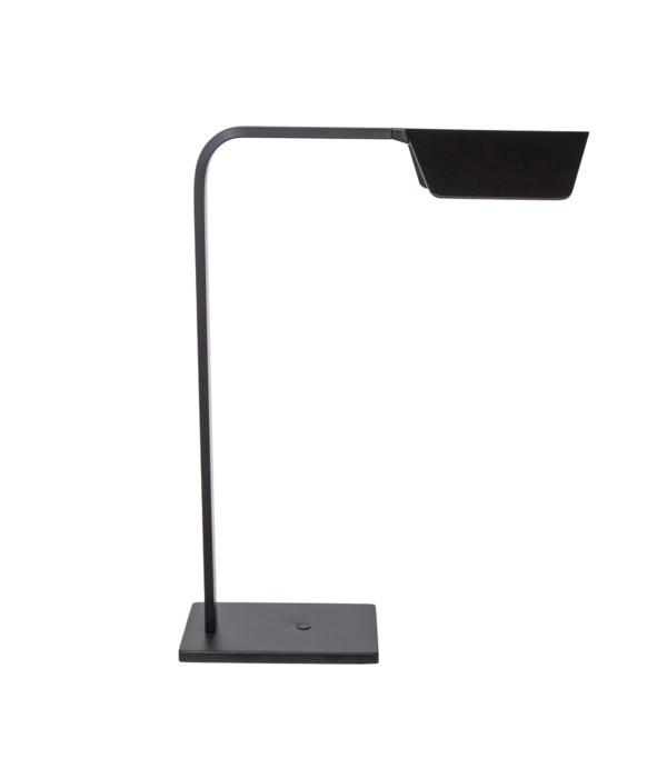 Us-Tablelamp Led, Matt Aluminium