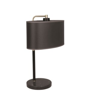 Tablelamp Marble Base Two Color Separate Shade*