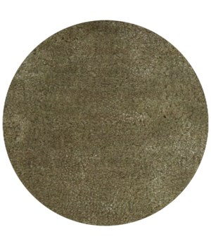 Lake Carpet in Light green 200 CM - Round