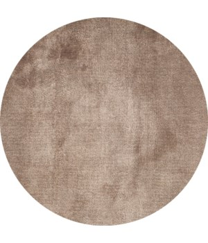 Lake Carpet in Taupe - Round