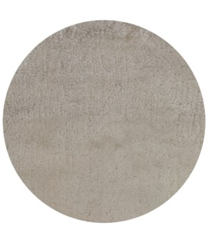 Lake Carpet 300 - Round Beige