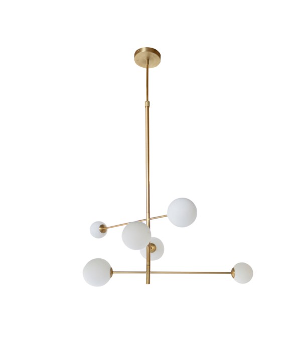 Pendant & 6 LED Bulbs