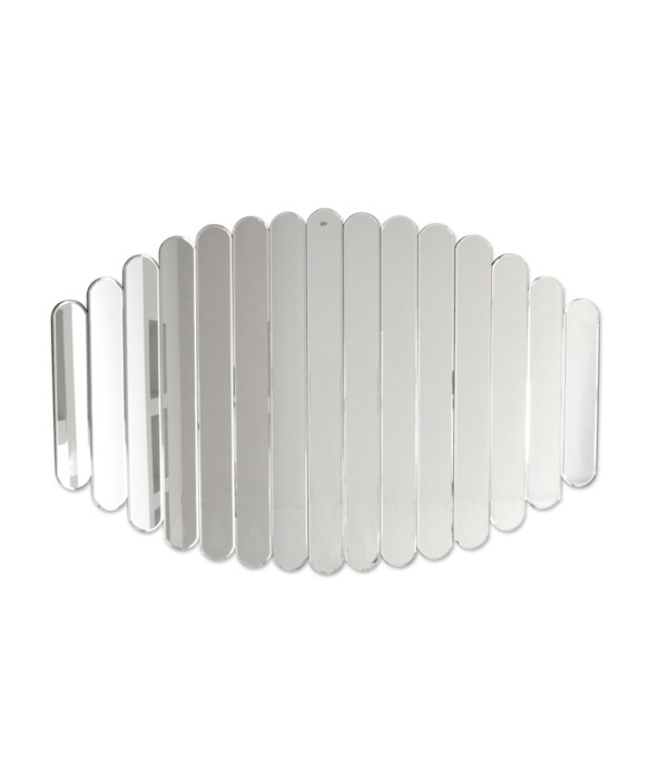 Mirror Oval Lines