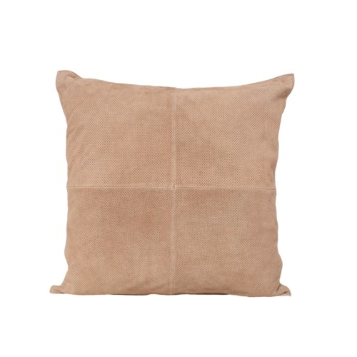 Cushion Perforated Cow Split Leather