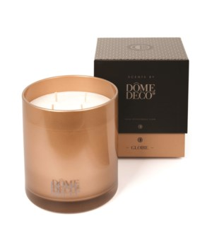 Scented Candle In Glass Gloire/Metal - M