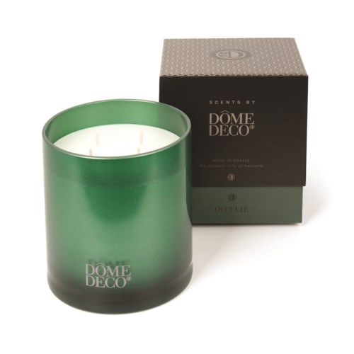 Scented Candle In Glass Occulte/Metallics - M