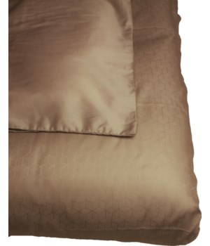 Double Sousa Bedcover With 60X60Cm Pillows In Grey