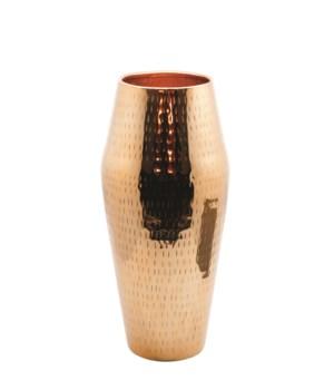 Vase Aluminium Hammered S