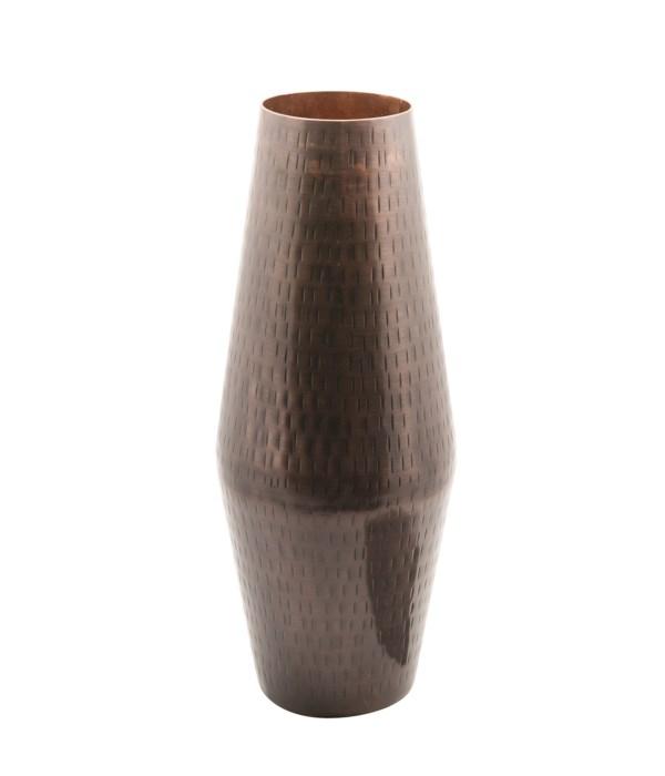 Vase Aluminium Hammered