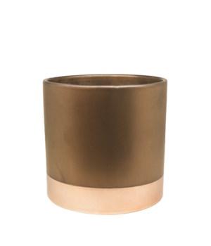 Vase Ceramics Copper Bottom M