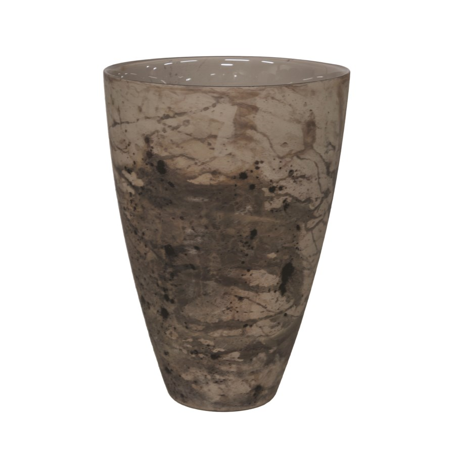 Vase Glass Abstract M