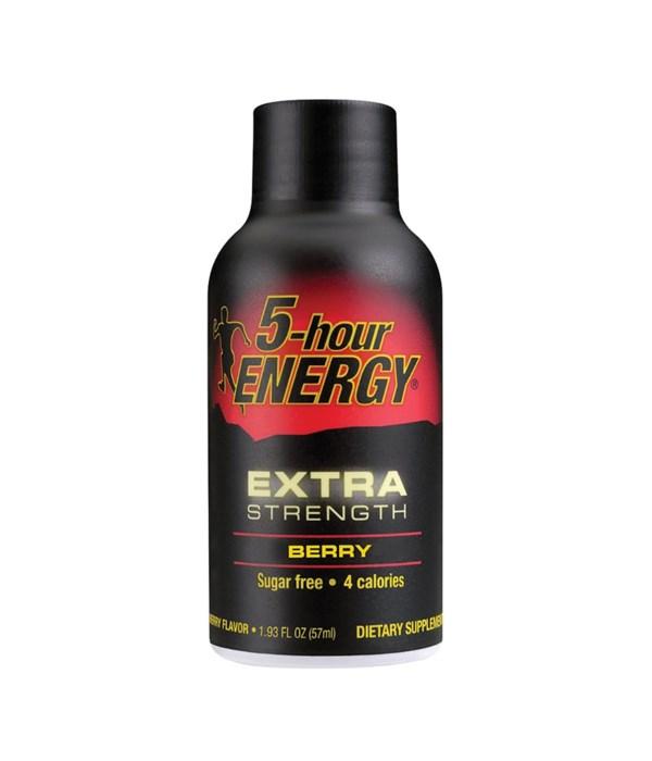 5HOUR® ENERGY DRINK - EXTRA STRENGTH BERRY- 12/UNIT (ITEM# 700126)