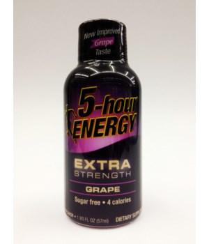5HOUR® ENERGY DRINK - EXTRA STRENGT GRAPE - 12/UNIT