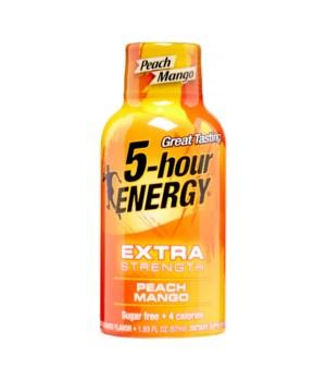 5HOUR® ENERGY DRINK - EXTRA STRENGTH MANGO PEACH - 12/UNIT