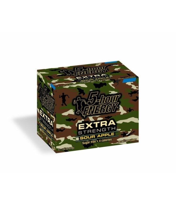 5HOUR® ENERGY DRINK - EXTRA STRENGTH SOUR APPLE - 12/UNIT