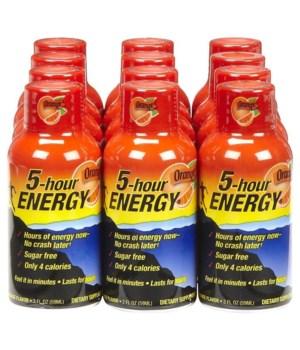 5HOUR® ENERGY DRINK ORANGE 12'S