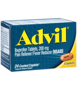 ADVIL CAPLET 12 X 24'S