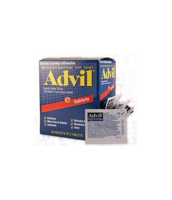 ADVIL® REGULAR BOX 50 X 2'S
