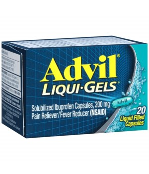 ADVIL® LIQUID GEL 20/CS