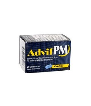 ADVIL® PM CAPLETS 12/20'S