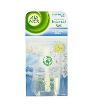 AIR WICK� SCENTED OIL REFILL 17ml (0.58 OZ) - COOL LINEN & LILAC- 6/CS