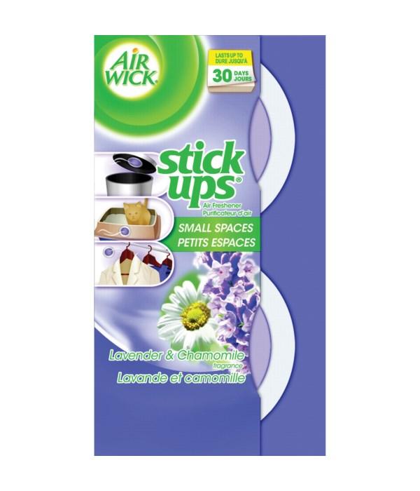 AIR WICK® STICK UP - LAVENDER & CHAMOMILE-  2PK 12/CS