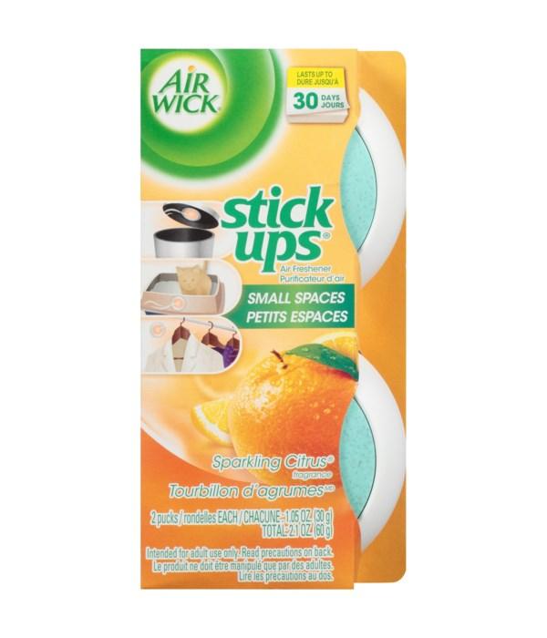 AIR WICK® STICK UP - SPARKLING CITRUS - 2PK 12/CS