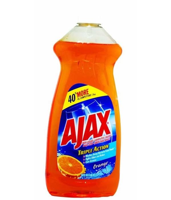 AJAX® DWL 28 OZ - ORANGE 9/CS (44678)