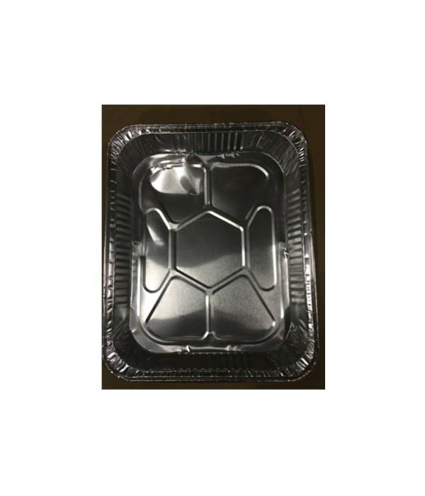 ALUMINUM PAN� HALF SIZE DEEP - 100/CS (#1800)