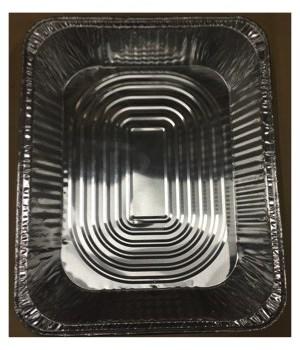 ALUMINUM PAN® HALF SIZE SHALLOW - 100/CS - #1900