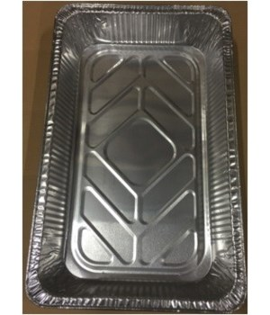ALUMINUM PAN® RECTANGULAR ROASTER - 100/CS (#3400)