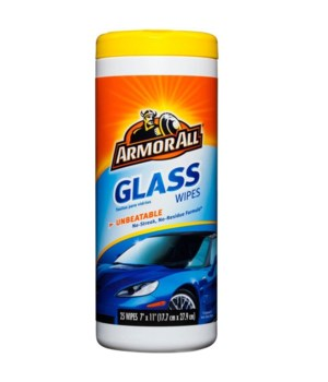 ARMOR ALL® GLASS WIPES 25CT - 6/CS