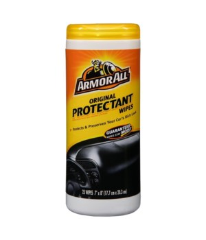 ARMOR ALL® CLEANING WIPES 25CT - 6/CS