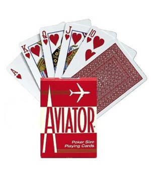 AVIATOR® PLAYING CARDS 12'S - ( 914R ) POKER