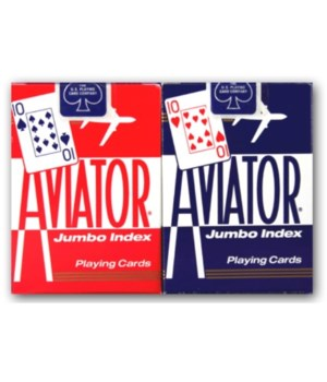 AVIATOR PLAYING CARD JUMBO INDEX 12'S (1000876)
