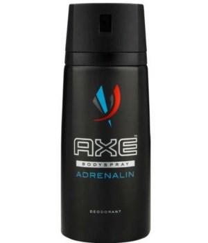 AXE® DEODORANT SPRAY 150 ML (NEW) - ADRENALIN - 12/UNIT
