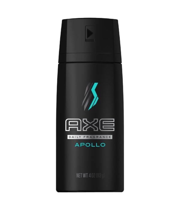 AXE® DEODORANT SPRAY 150 ML (NEW) - APOLLO - 12/UNIT