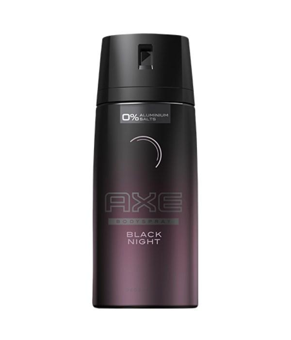 AXE® DEODORANT SPRAY - 150 ML  (NEW) - BLACK NIGHT 12/UNIT