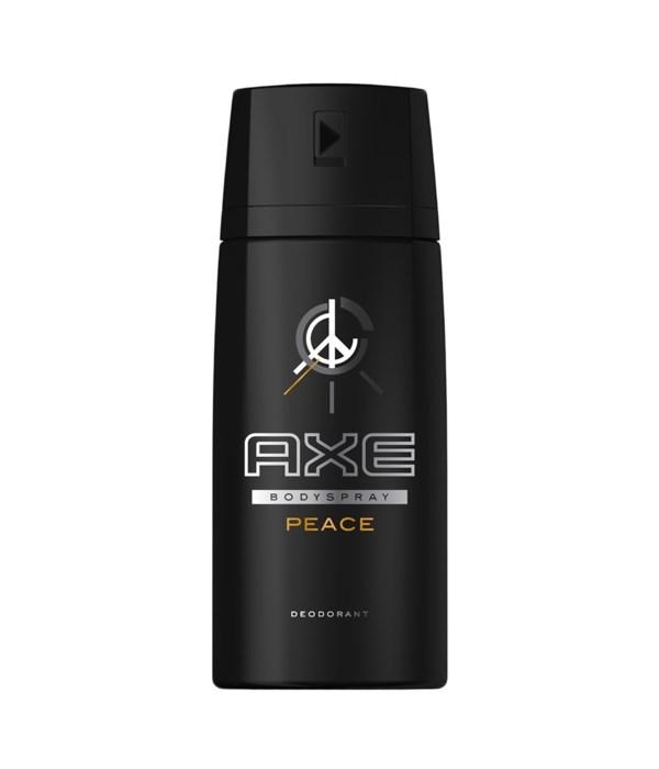 AXE® DEODORANT SPRAY 150 ML (NEW)  - PEACE - 12/UNIT