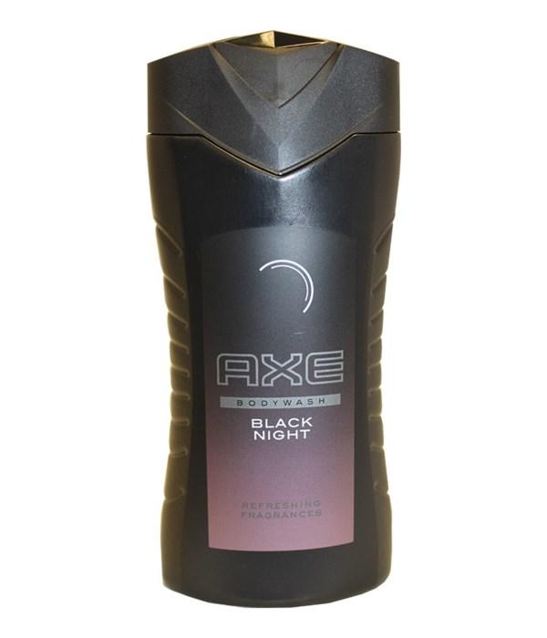 AXE® BODY WASH 250 ML -BLACK NIGHT - 12/UNIT