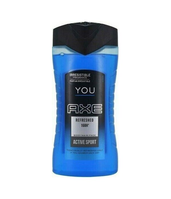AXE® BODY WASH 250 ML - REFRESHED YOU - 12/UNIT