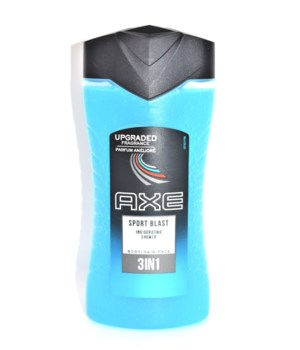 AXE® BODY WASH 250 ML - SPORT BLAST - 12/UNIT