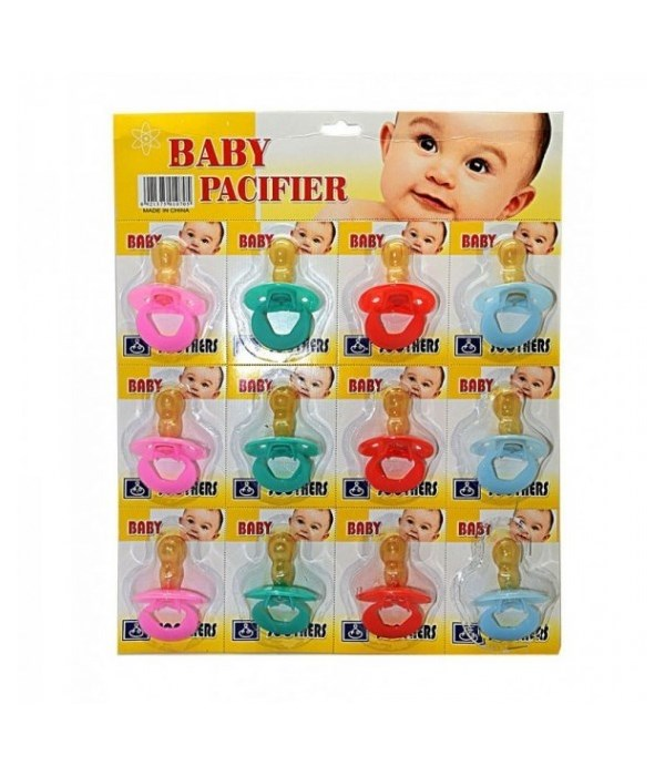 BABY PACIFIER 12'S