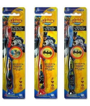 BATMAN® TOOTH BRUSH TRAVEL KIT - 48/CS