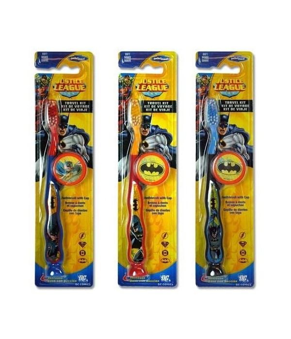 BATMAN® TOOTH BRUSH TRAVEL KIT - 48/CS