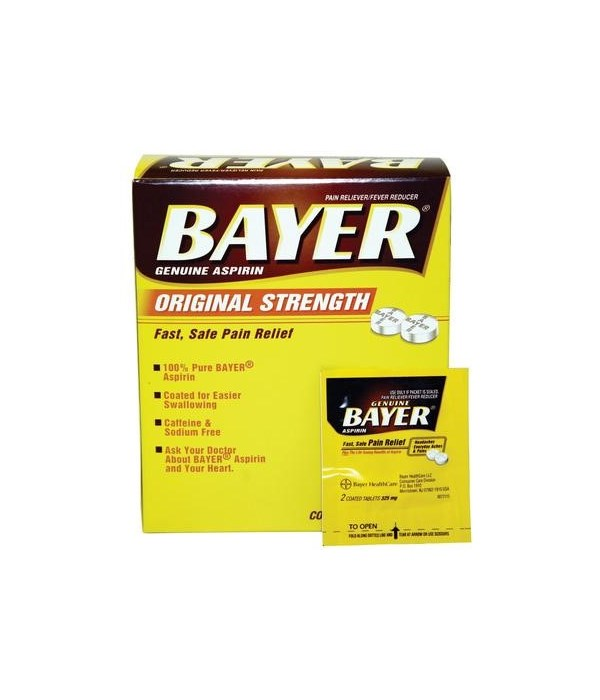 BAYER® BOX  2PK - 50/CS